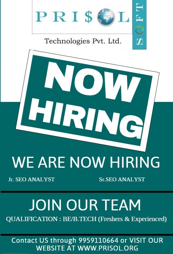 prisol-soft-technologies-hiring